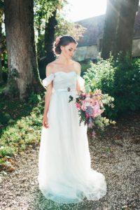 Серое свадебное платье Арсения (бренд Миламира)