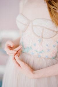 Необычное свадебное платье Кортни от Миламира