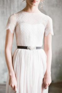 Нежное и романтичное свадебное платье Ингода от Миламира