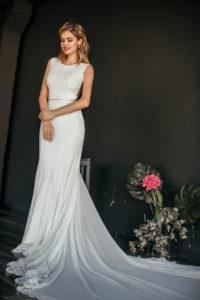 Свадебное платье из эластичного кружева Ka Lani от Миламира