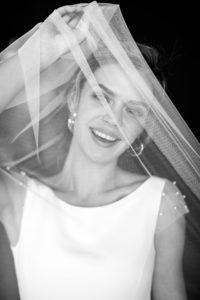 Шифоновое минималистичное свадебное платье Mele от Миламира