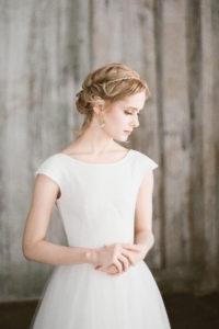 Женственное свадебное платье — Уда от Миламира