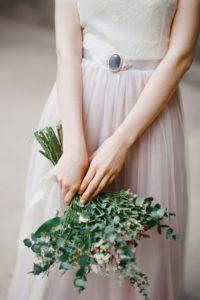 Розовое свадебное платье Ульяна (бренд Миламира)