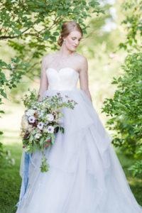 Сказочное свадебное платье Усра от Миламира