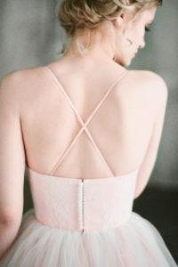 Пышное свадебное платье с чашками — Волга от Миламира