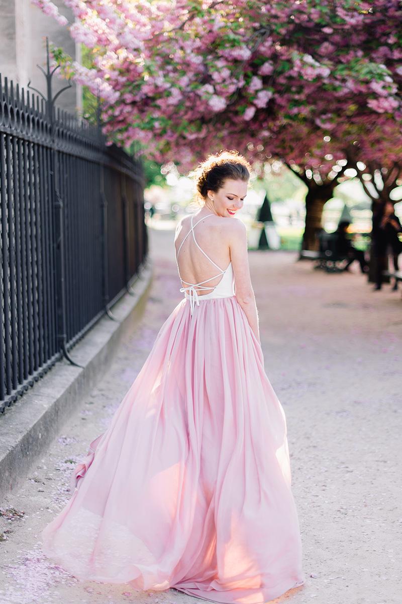 Открытое свадебное платье — Йоканга от Миламира