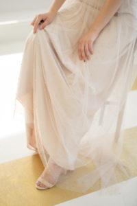 Элегантное платье с корсажем с чашечками Etun от Миламира