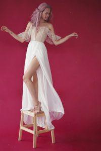 Cексуальное и нежное свадебное платье Saga от Миламира