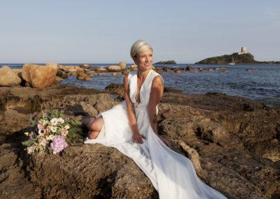 открытое свадебное платье Ида (бренд Миламира)